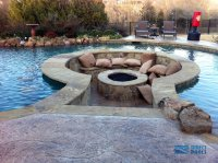 11 Amazing Designs of Fire Pits Built Inside Pools ...