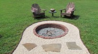 9 Inspiring In-Ground Fire Pit Designs And Ideas - OUTDOOR ...