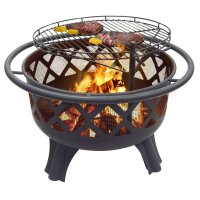 Catalina Creations Crossfire Fire Pit with Quick Removable ...