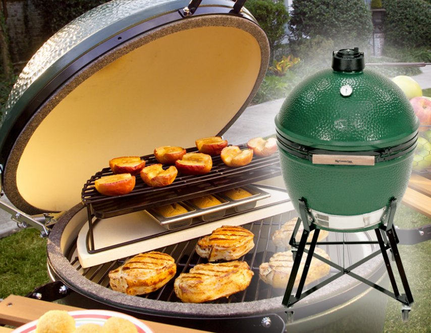 BIG GREEN EGG  Fireplace Center KC