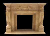Verona Marble Mantels Sale - French Fireplaces