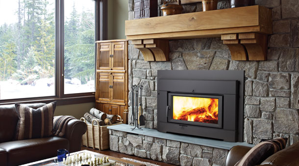 Install Gas Fireplace In Existing Home Regency Ci2600 Large Wood Insert - The Fireplace Place