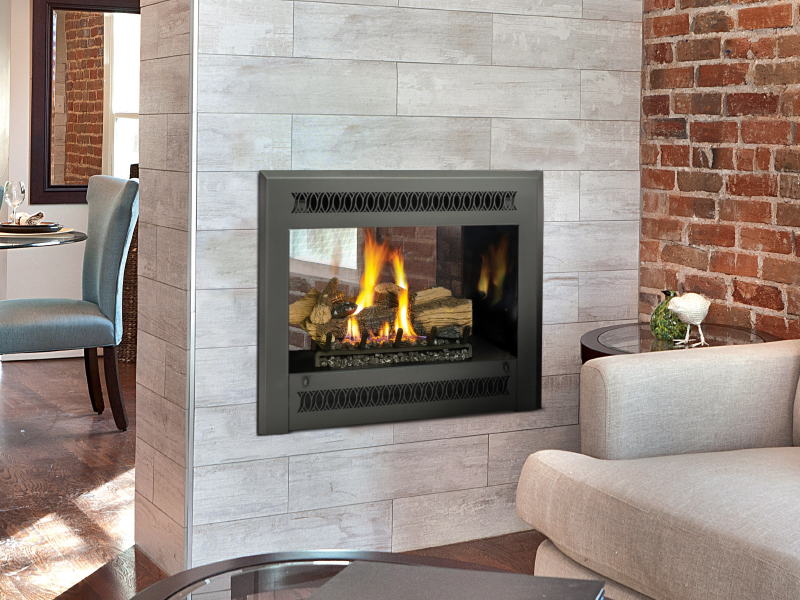 Install Gas Fireplace In Existing Home 864 See-thru Gs2 Gas Fireplace | The Fireplace Place