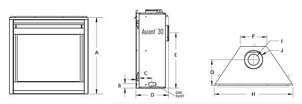 Fireplacepro.com – Napoleon Ascent 30