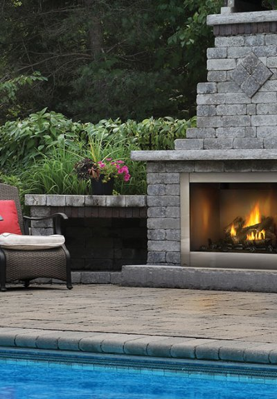 Naploeon Riverside Outdoor Vent Free Gas Fireplace The Fireplace Professionals