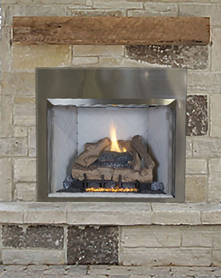 The fireplace professionals naploeon riverside outdoor for Astria fireplace