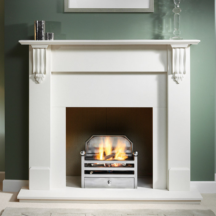 Gas Fireplace Types Gallery Elan Cast Iron Fire Basket - Fireplaces Are Us