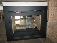 Heat & Glo Double Sided Gas Fireplace