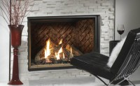 Kingsman Hb4740 Large Traditional Gas Fireplace