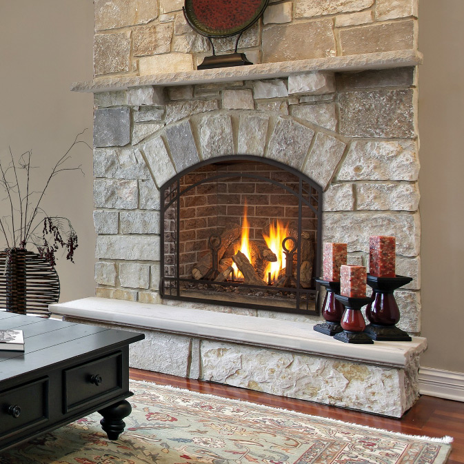 Majestic Fireplaces Gas Fireplaces Gas Fireplaces | Fireplace Stone & Patio
