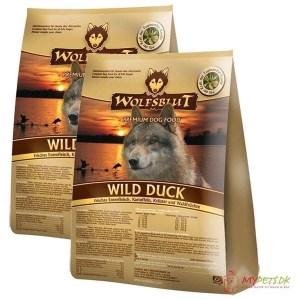 2 x 15 kg. Wolfblut Wild Duck Adult storkøb rabat
