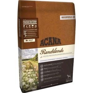 Acana Ranchlands hundefoder, Regionals, 6 kg