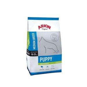 Arion Original Puppy Medium Breed - Kylling og Ris - 3kg