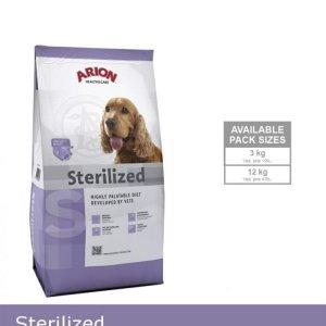 Arion Sterilized Hundefoder - Med Kylling - 3kg