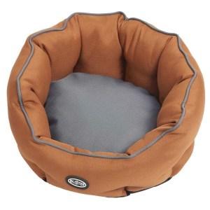 BUSTER Cocoon seng, Leather Brown/Steel Grey, medium
