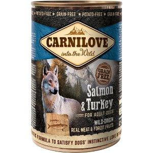Carnilove Canned Salmon & Turkey - dåse 400 g