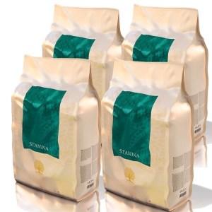 Essential STAMINA energifoder, 4 x 3 kg, små racer