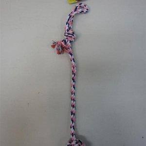 Hundelegetøjs Knudereb - Med Abehånd - 56cm