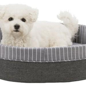 Hundeseng Finley, Grå/hvid, 45 x 35 cm