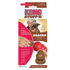 KONG StuffN snacks, Lever smag - Large