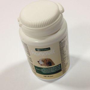 Kanavit fodertilskud til hunde - 100 stk. tabletter