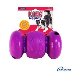 Kong Replay Hunde Aktivitetslegetøj - 3 Delt - Flere Størrelser