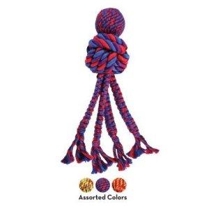 Kong Wubba Weaves - Med Reb - Large - 38cm