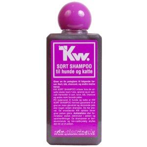 Kw Hunde og Katte Shampoo - Sort - 200ml