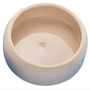 Nobby Hundeskål i Keramik - Cream - Ø18cm - 1L - - - -