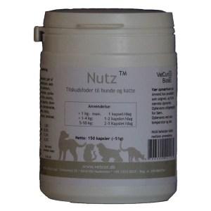 Vetcur NUTZ tilskud til hund og kat, 150 kapsler
