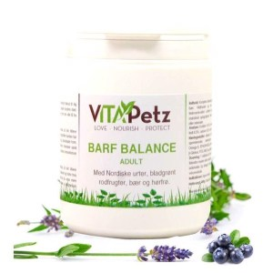 VitaPetz BARF Balance Adult, urtetilskud, 400 gr.