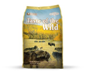 Wild High Prairie Bison13 kg - Taste of the Wild - M/GRATIS LEVERING OG GRATIS GODBIDDER