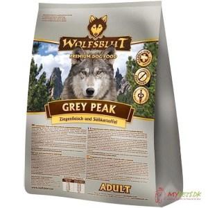 WolfsBlut Grey Peak Adult med ged & hest, 15 kg