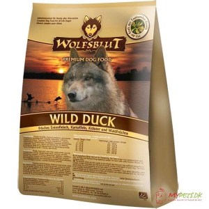 WolfsBlut Wild Duck Adult med and, 2 kg