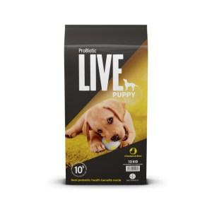 12 kg. ProBiotic LIVE Puppy med Kylling - hvalpefoder