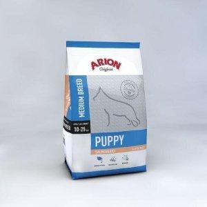 Arion Original Puppy Medium Breed - Laks og Ris - 3kg