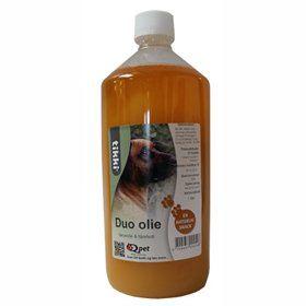 Duo Olie - lakseolie med tilsat fårefedt, 1 liter