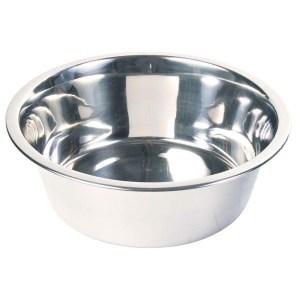Hundeskål i rustfri stål, 2,4 liter