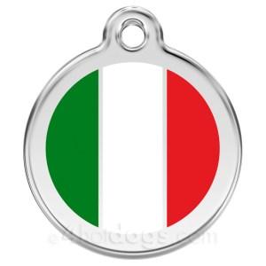 Hundetegn Italiensk flag small