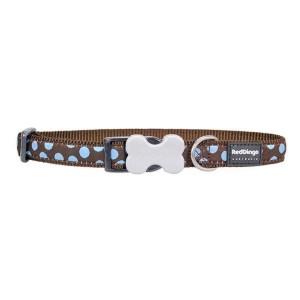 Red Dingo Halsbånd, Blue Spot, 31-47 cm