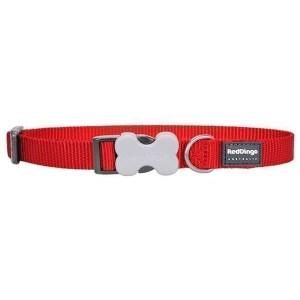 Red Dingo Halsbånd, Rød, 20-32cm