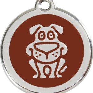 Red Dingo Hundetegn Hund - Brun - Small