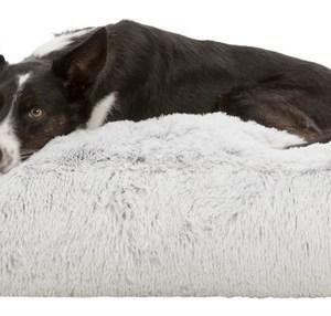 Harvey Hundemadras, Hvid/Sort, 100 X 70cm