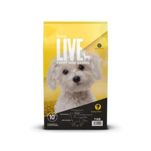 2 kg. ProBiotic LIVE Puppy MINI med Kalkun- hvalpefoder