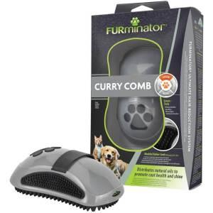 FURminator massagebørste til hunde og katte