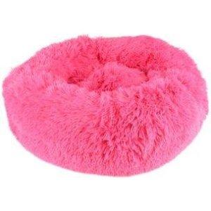 Flamingo Donut Hundeseng - Pink - Ø50cm