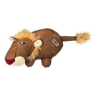 Kong Phatz Hundelegetøjs Bamse Løve i Slidstærkt Materiale - 22x14x12cm - Med Pivelyd - - - -