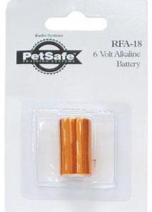 Petsafe RFA-18 6V erstatningsbatteri til diverse anti-gø halsbånd