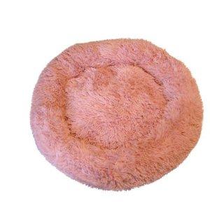 Fluffy Hundeseng - Rosa