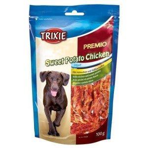 Trixie Premio Hunde Snack Godbidder - Med Søde Kartoffel og Kylling - 100g - Glutenfri